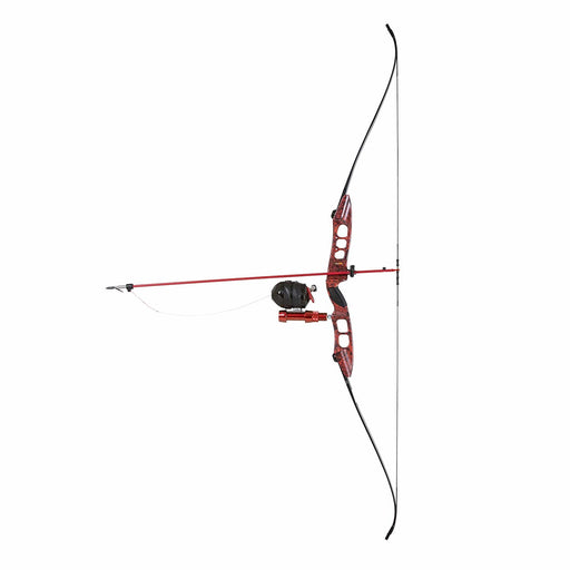 Cajun Bowfishing Fish Stick Pro Take-Down Bowfishing Bow with Spin Doctor Reel