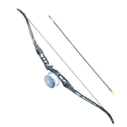 PSE Kingfisher All-Season Camo Bowfishing Recurve Bow Package Right Handed 60""