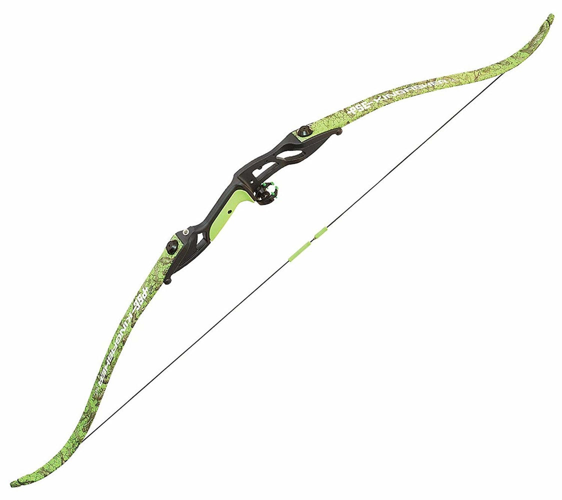 PSE Kingfisher Green Bowfishing Takedown Recurve Bow 56""