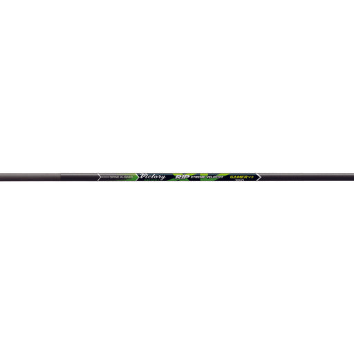 Victory Archery Victory Rip XV Gamer Shafts 300/350 Black - 12/Pack
