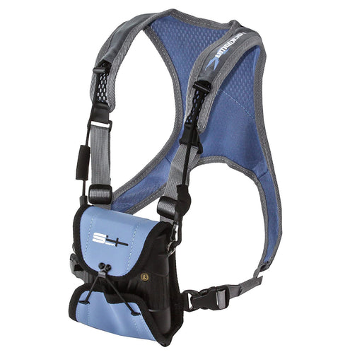 S4 Gear Lockdown X Hands Free Adjustable Binocular Harness - Blue