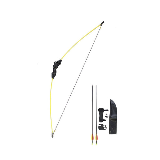 "Wizard Archery 15 Lbs 24"" Youth Recurve Bow Package - Yellow"