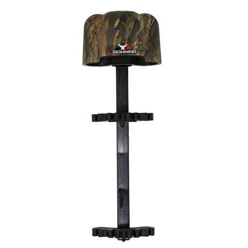 Bohning Lynx Quiver Lightweight Dual-Retainer 4 Arrow Quiver - Mossy Oak Country