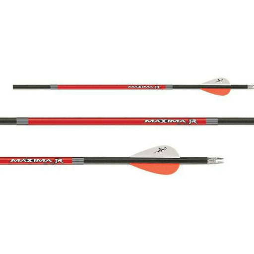 Carbon Express Maxima Jr. 3050 Arrows for Youth Multi-Color - 3/Pack