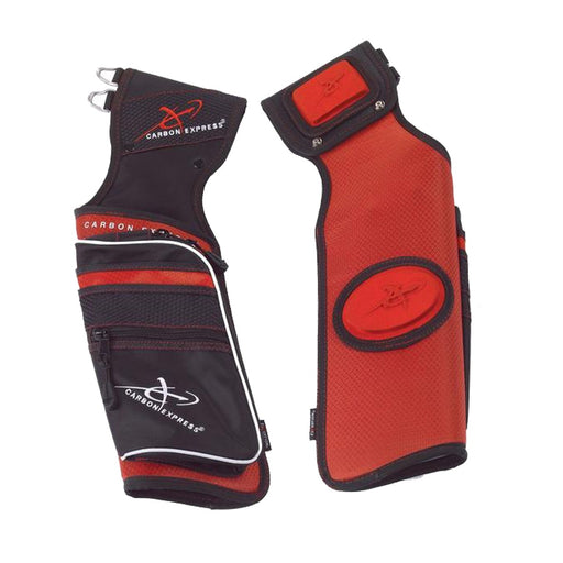 Carbon Express Field Quiver Red/Black or Purple/Black - Right Hand