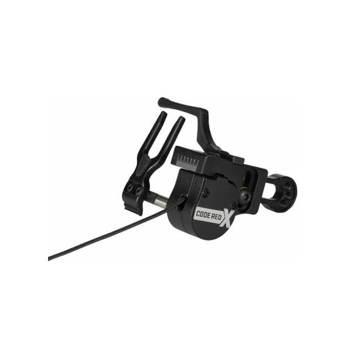 Ripcord Code Red X Arrow Rest Left-Handed or Right-Handed - Black