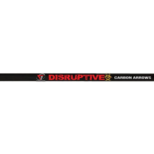 PSE Disruptive Carbon Youth Arrows 28-Inch Fletched with 3″ Vanes - 6/Pack