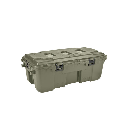 Plano Large Hinged Storage Box with Wheels Made in USA - OD Green