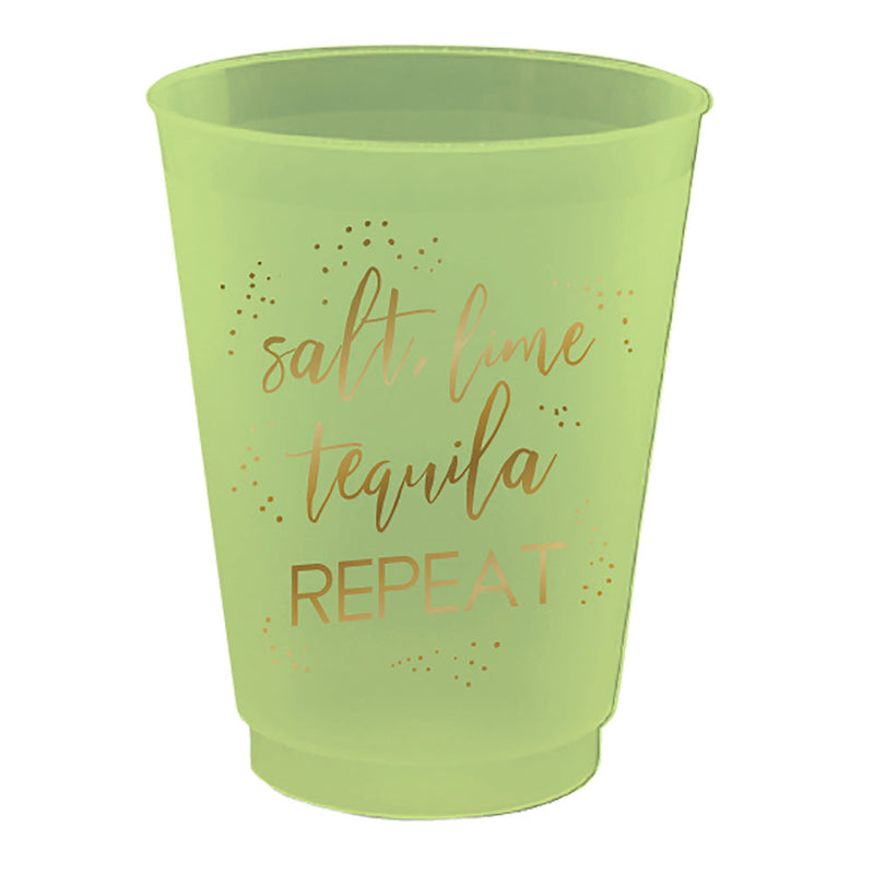 Salt, Lime, Tequila, Repeat Party Cups