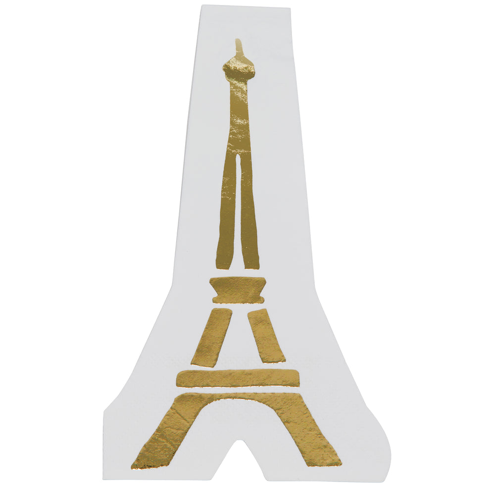 Eiffel Tower Cocktail Napkins