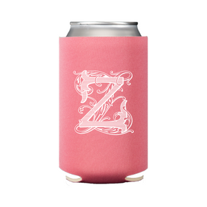 Vintage Vine Single Letter Koozie (S/6) - Strawberry Ice