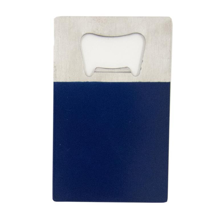 Navy Credit Card Bottle Opener