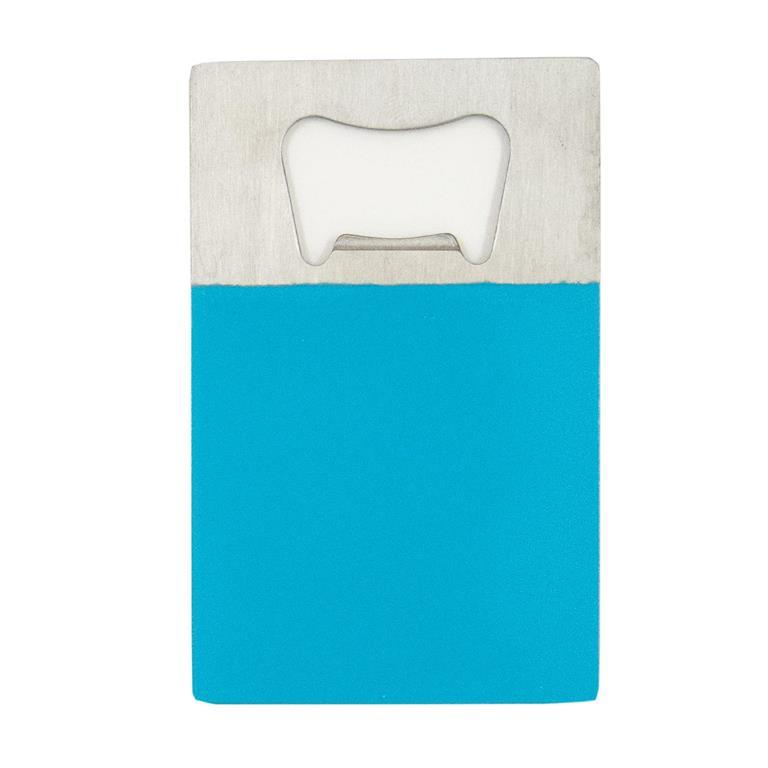Turquoise Credit Card Bottle Opener
