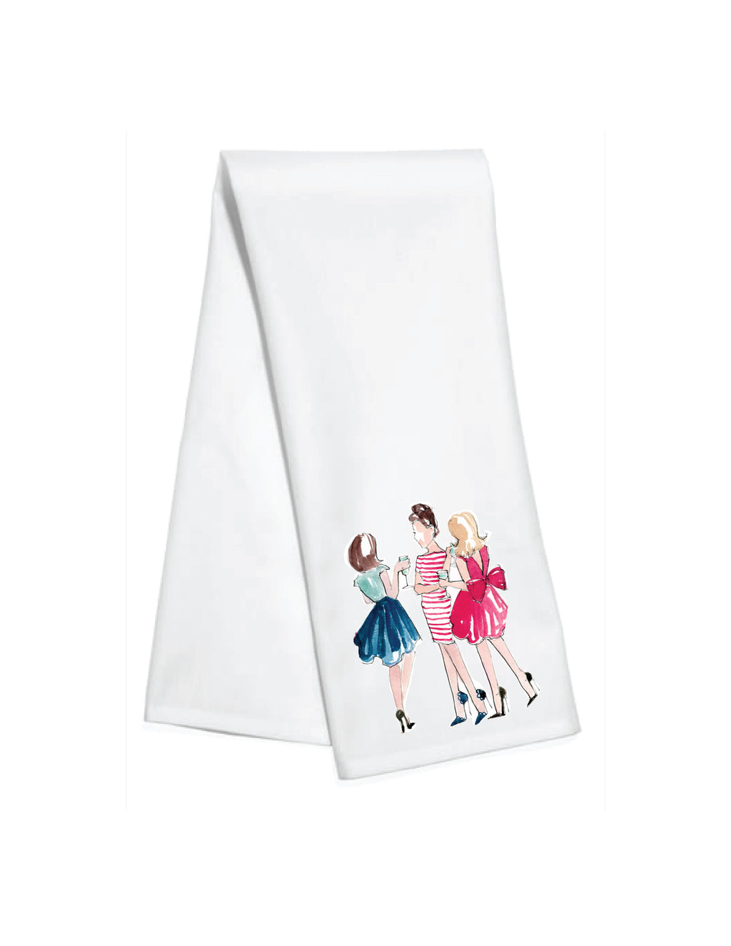 Party Girls Kitchen Towel