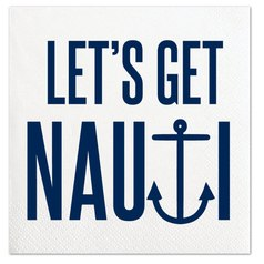 Get Nauti Cocktail Napkins