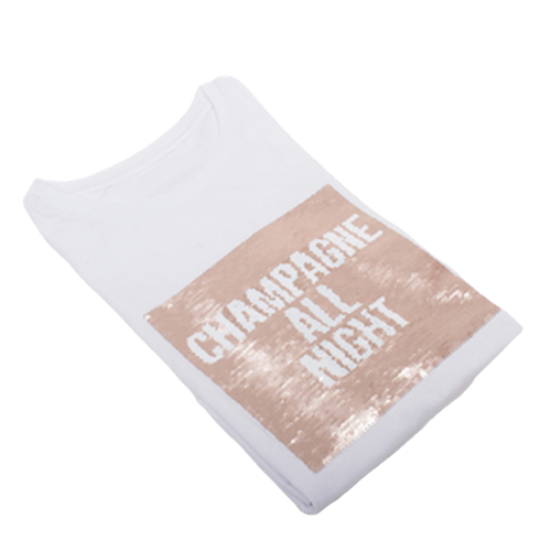 Champagne All Night Shirt