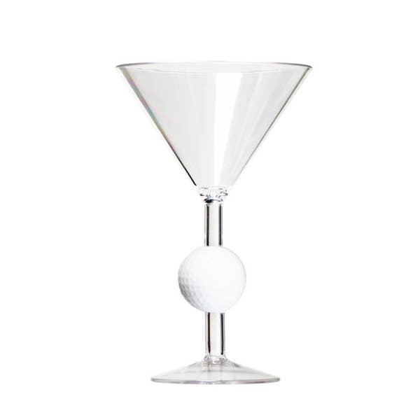 Golf Martini Drinkware