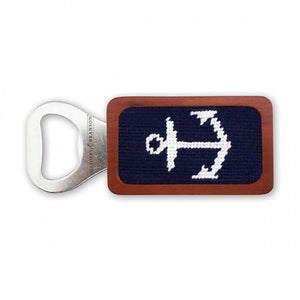 Anchor Needlepoint Bottle Opener