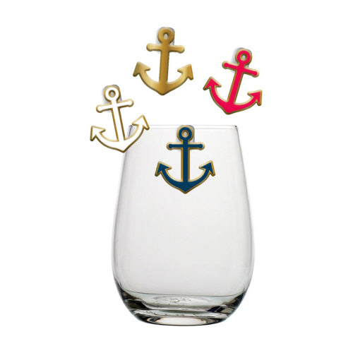 Anchor Drink Charms