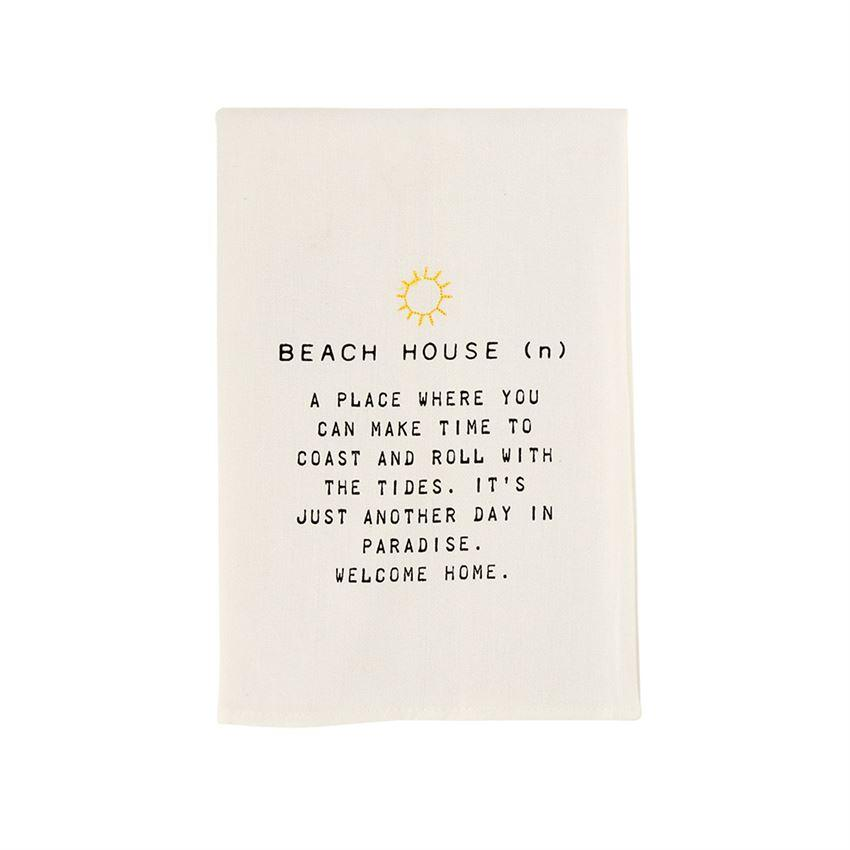 Beach House Bar Towel