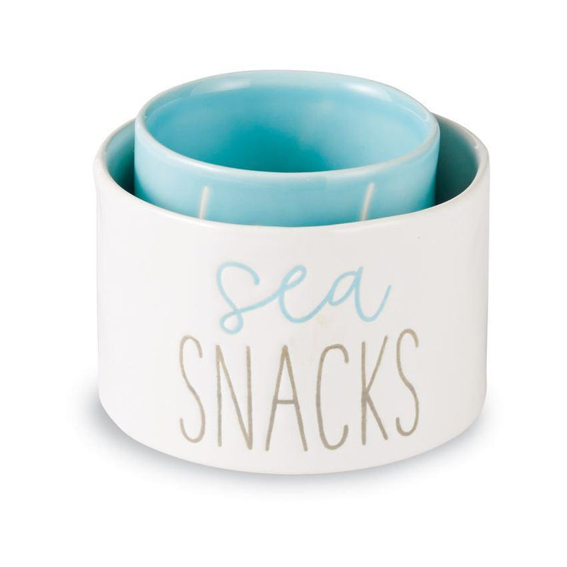 Beach Snacks Dip Cup Set