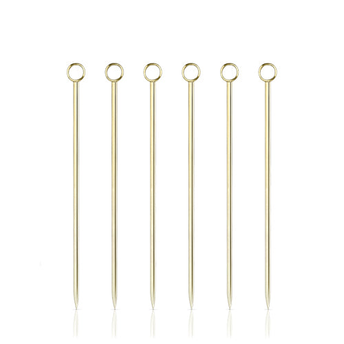 Cocktail Pick Set - Gold