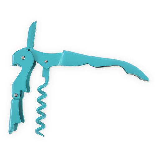 Double Hinged Corkscrew - Full Blue