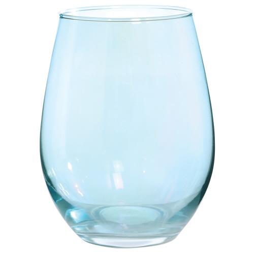 Blue Luster Stemless Wine