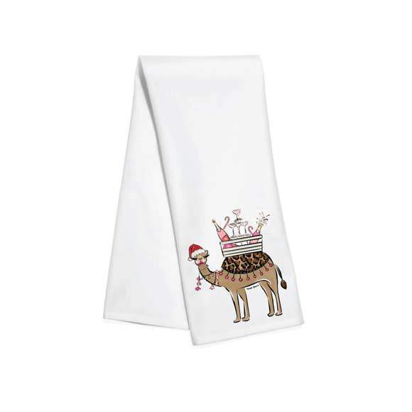 Holiday Camel Bar Towel