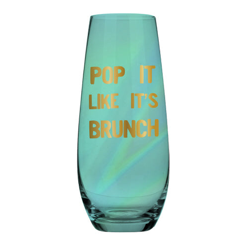 Champagne Flute Pop It Like It's Brunch