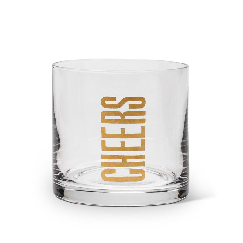 Cheers Rocks Glass S/4