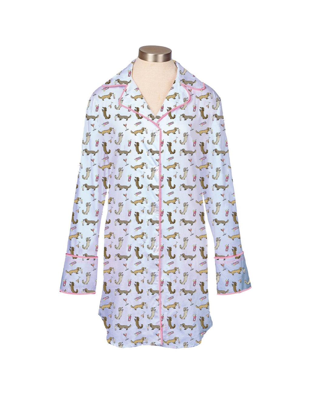 Cocktail Weenies Pajama Nightshirt