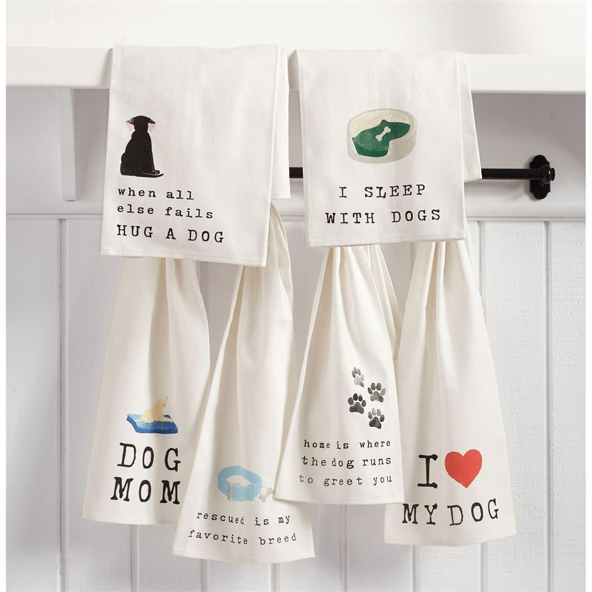 Hug a Dog Bar Towel
