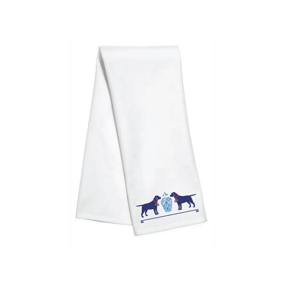 Sophisticated Dog Bar Towel