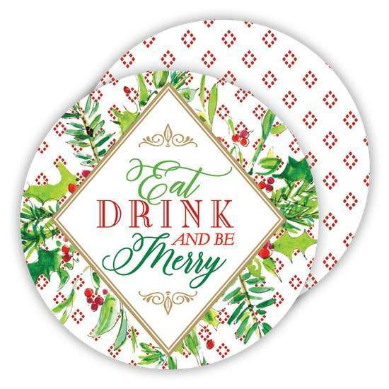 Eat Drink & Be Merry Coasters