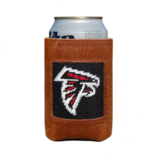 Smathers & Branson Atlanta Falcons Needlepoint Can Cooler