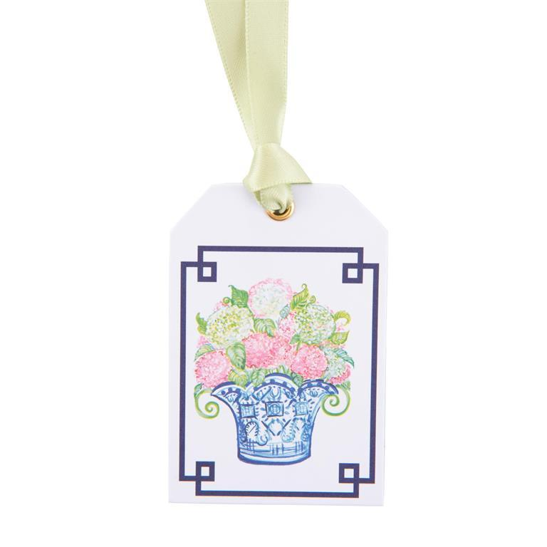 Flowers Bottle Tags