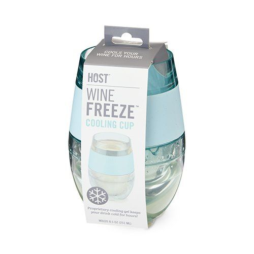 Wine FREEZE Cooling Cups - Blue