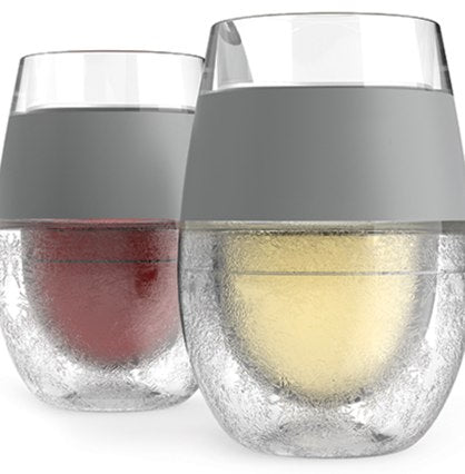 Wine FREEZE Cooling Cups S/2