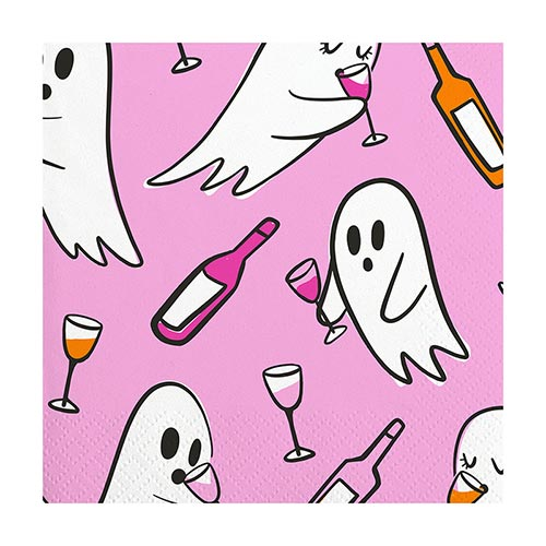 Drinking Ghost Cocktail Napkins