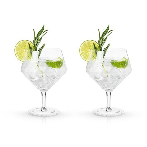 Viski® Gin and Tonic Glasses