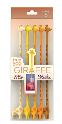 Giraffe Stir Sticks
