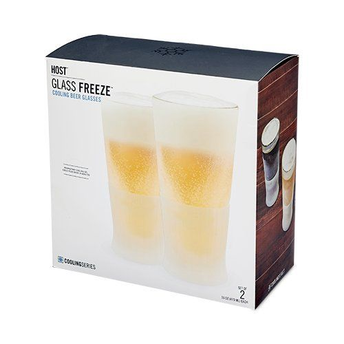 Glass FREEZE™ Beer Glass Set