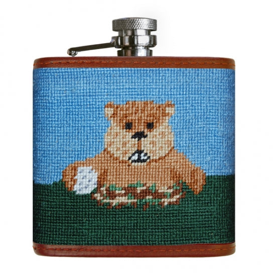 Smathers & Branson Gopher Golf Flask