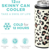 Skinny Can Cooler - Leopard