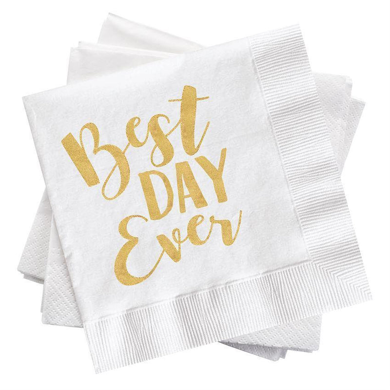 Best Day Ever Cocktail Napkins