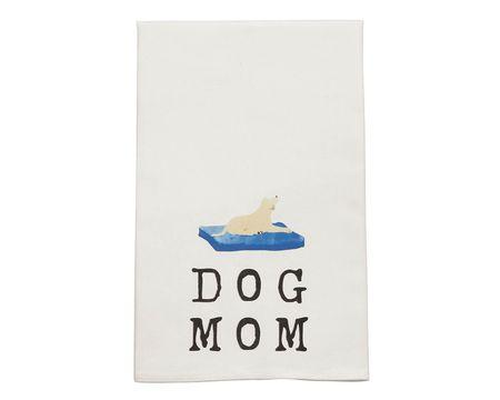 Dog Mom Bar Towel