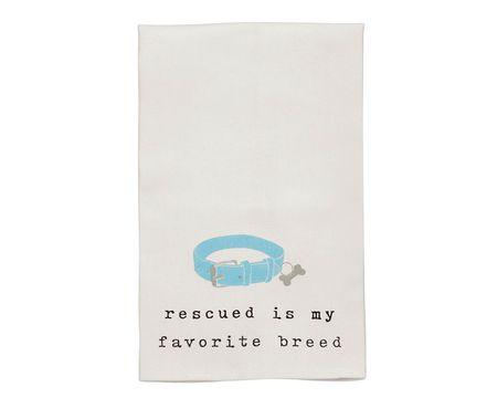 Rescue Breed Bar Towel