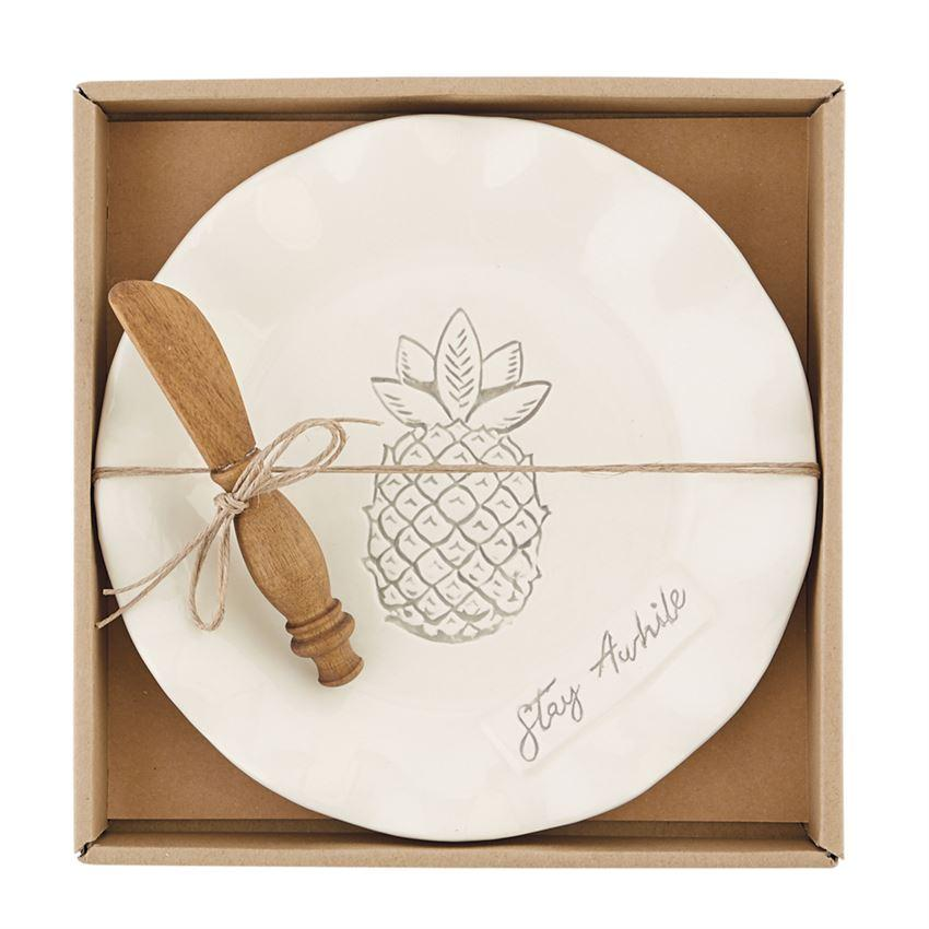 Ruffle Pineapple Cheese Set