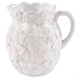 Sand Dollar Pitcher